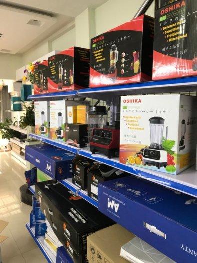 Máy xay đa năng Oshika HD03 chuyên dùng cho quán cafe, cửa hàng sữa ngô, quán trà sữa0