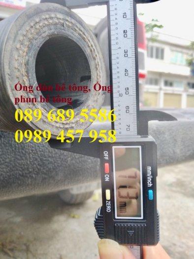 Phân phối ống cao su đẩy bê tông phi 40, Ống cao su đùn bê tông5