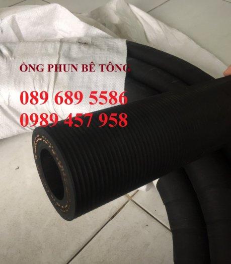 Phân phối ống cao su đẩy bê tông phi 40, Ống cao su đùn bê tông3