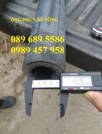 Phân phối ống cao su đẩy bê tông phi 40, Ống cao su đùn bê tông0