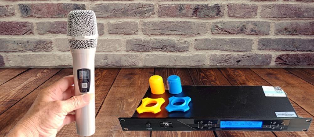 Micro không dây PS Audio VK-6 mẫu 2021, tiếng phát rõ, âm thanh hay0