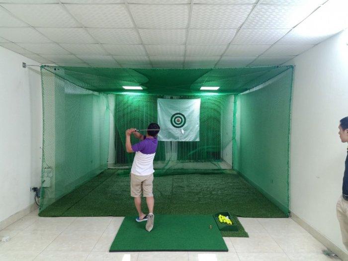 Lưới chắn bóng golf, lưới quây sân tập golf mini0