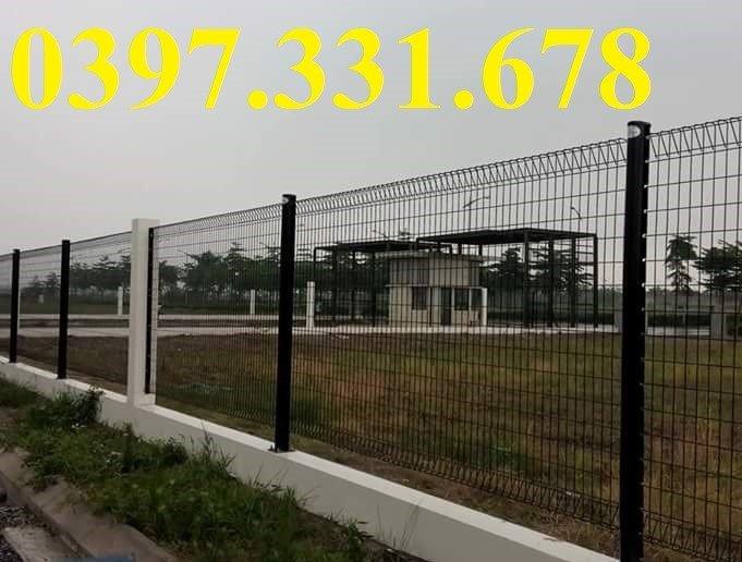 Lưới thép hàn, Lưới thép hàng rào D5 ô 50x150 giá tốt4