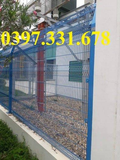 Lưới thép hàn, Lưới thép hàng rào D5 ô 50x150 giá tốt1
