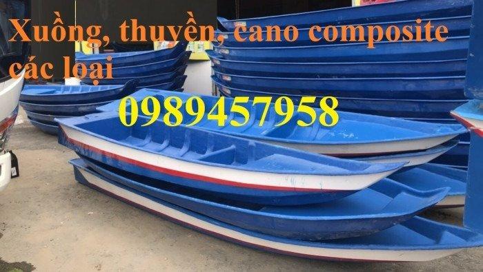 Thuyền ba lá, thuyền composite, thuyền gỗ, Thuyền chèo tay cho 2 người7