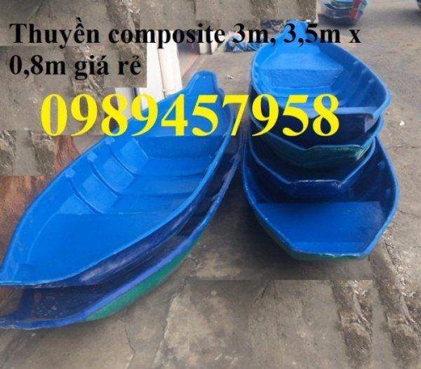 Thuyền ba lá, thuyền composite, thuyền gỗ, Thuyền chèo tay cho 2 người5
