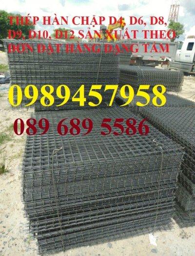 Bán Lưới thép hàn đổ sàn phi 4 ô 150x150, 200x200, 250x250 giao hàng ngay5