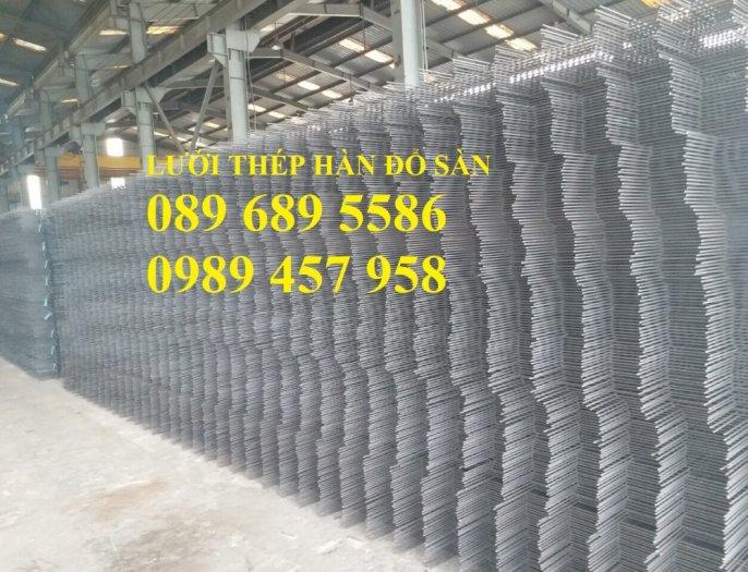 Bán Lưới thép hàn đổ sàn phi 4 ô 150x150, 200x200, 250x250 giao hàng ngay3