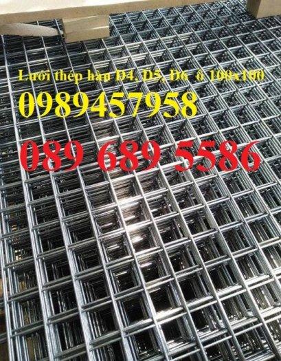 Nơi sản xuất Lưới thép phi 6, Sắt hàn phi 6 mắt 50x50, 100x100, 200x200, 250x2502