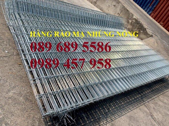 Hàng rào mạ kẽm nhúng nóng phi 5, phi 6 ô 50x50, 50x100, 50x150, 50x200, 75x2004