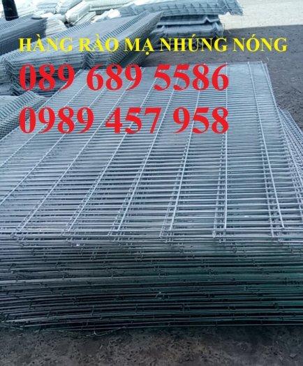 Hàng rào mạ kẽm nhúng nóng phi 5, phi 6 ô 50x50, 50x100, 50x150, 50x200, 75x2003
