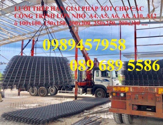 Nơi sản xuất lưới thép phi 10 ô 200x200, 250x250, 100x200, phi 12 giá tốt6