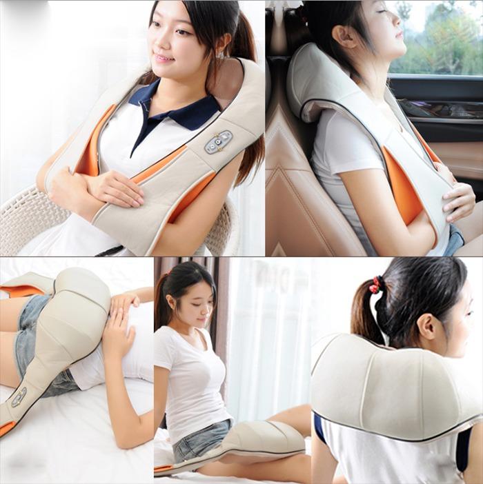 Máy massage giảm đau vai gáy Ayosun Hàn Quốc chính hãng2