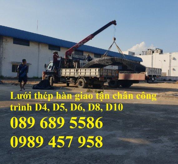 Lưới thép đổ bê tông phi 5, Lưới thép hàn phi 6 và lưới thép phi 4 có sẵn11