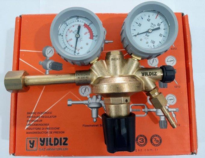 Đồng hồ giảm áp nitơ Messer Harris Yildiz11