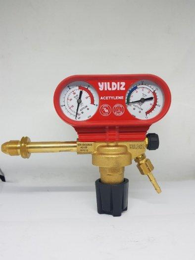 Đồng hồ giảm áp nitơ Messer Harris Yildiz10