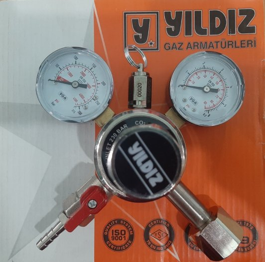 Đồng hồ giảm áp nitơ Messer Harris Yildiz9