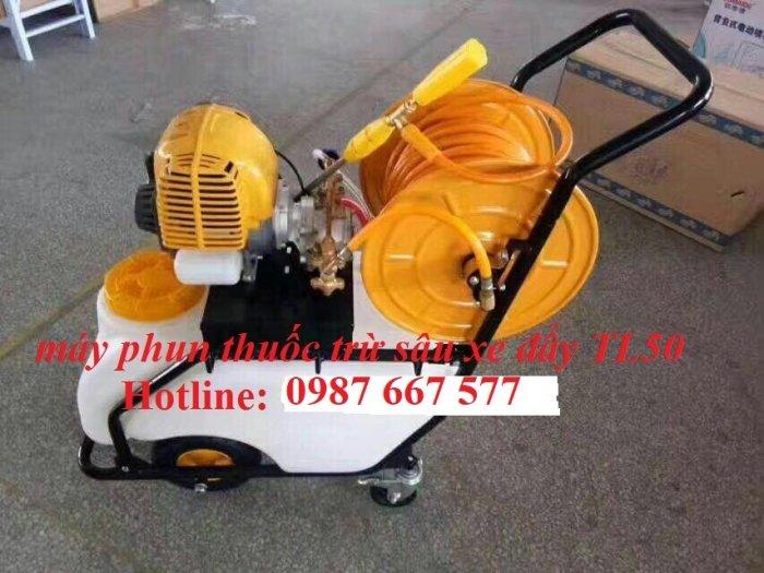 Phân phối xe đẩy phun thuốc trừ sâu Fujikawa GX35- bình chứa 50 lit giá rẻ nhất thị trường1
