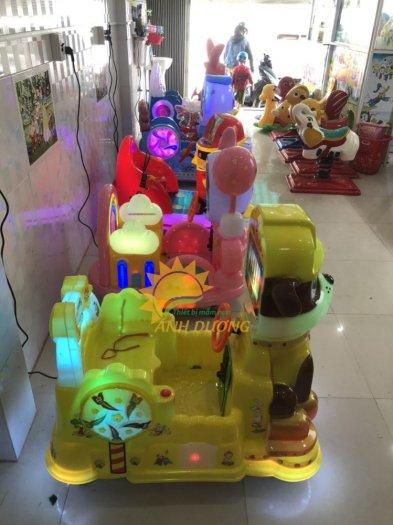 Thú nhún điện nhập khẩu trẻ em cho khu vui chơi, công viên, quán cà phê4