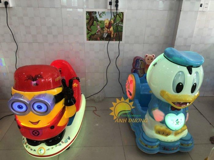 Thú nhún điện nhập khẩu trẻ em cho khu vui chơi, công viên, quán cà phê3