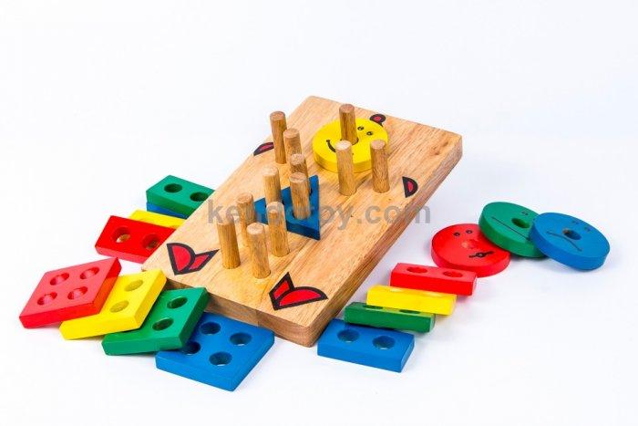 Lắp ráp hình học cho bé vui chơi an toàn2