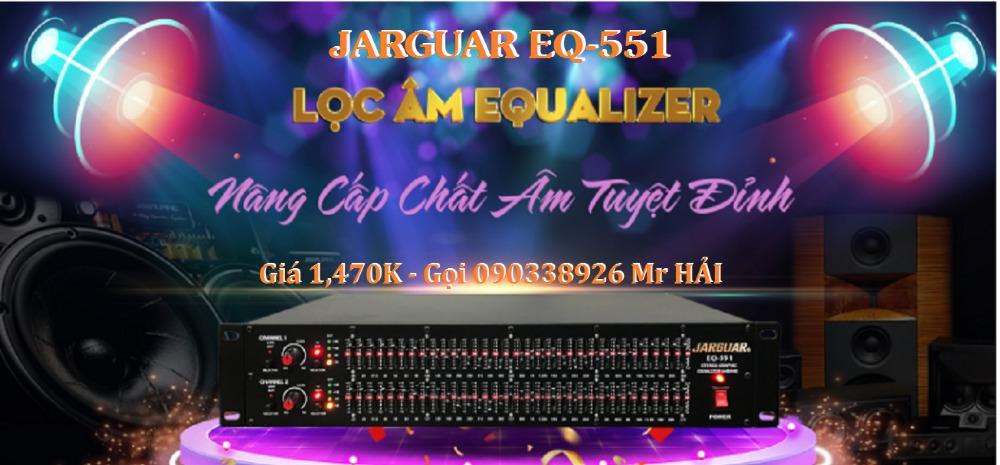 Lọc nhạc Jarguar EQ-551 hàng chính hãng Việt Nam sản xuất3