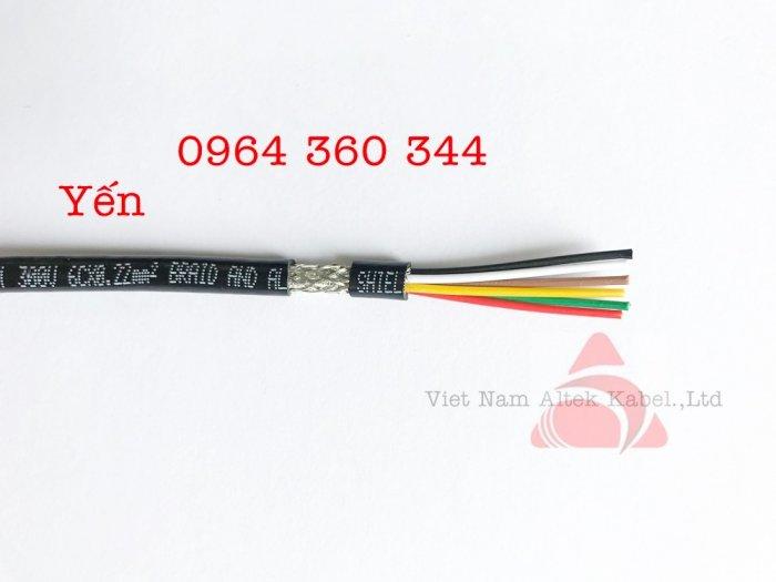 Cáp tín hiệu cân điện tử 4c x 0.22mm21