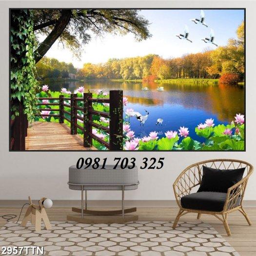 Gạch tranh phong cảnh, tranh đẹp trang trí phòng4