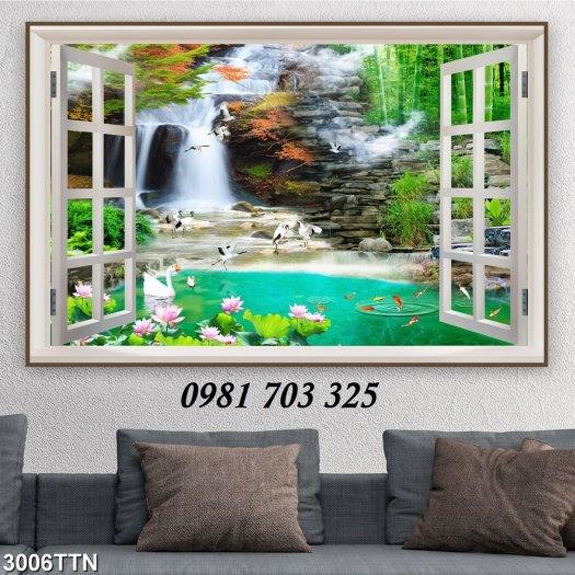 Gạch tranh phong cảnh, tranh đẹp trang trí phòng1
