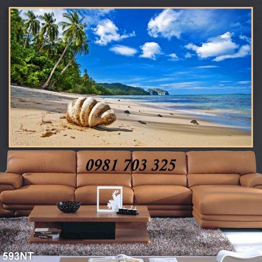 Gạch tranh phong cảnh, tranh 3D cảnh biển đẹp1