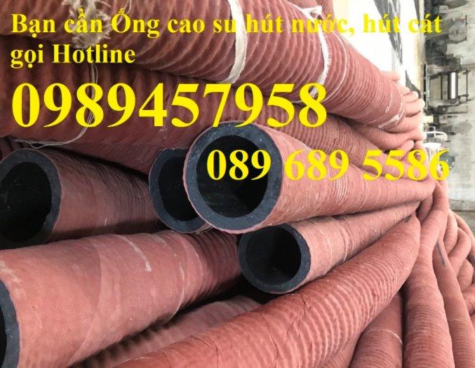 Phân phối Ống cao su hút nước phi 115, ống hút cát phi 150, phi 180, Ống cao su phi 2206