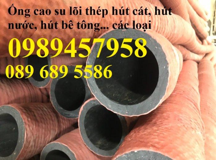 Phân phối Ống cao su hút nước phi 115, ống hút cát phi 150, phi 180, Ống cao su phi 2201