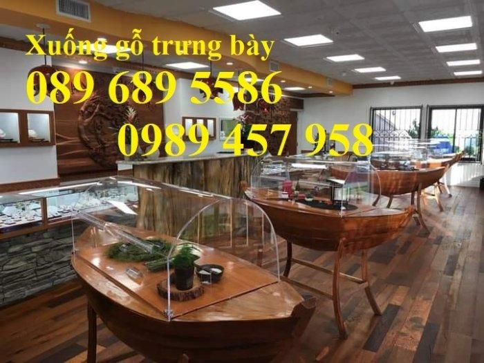 Mẫu xuồng trang trí 2m, 2m5, 3m, Thuyền trang trí nhà hàng và quán cafe1
