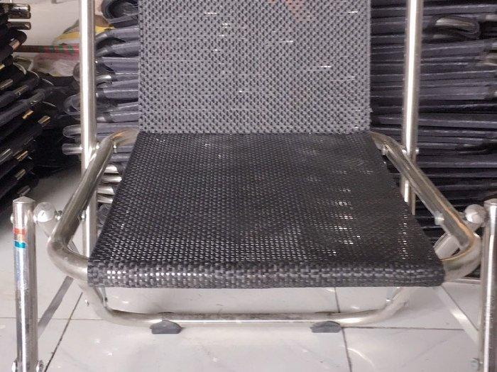 Ghế xếp lò xo inox giá sỉ tại xưởng sản0