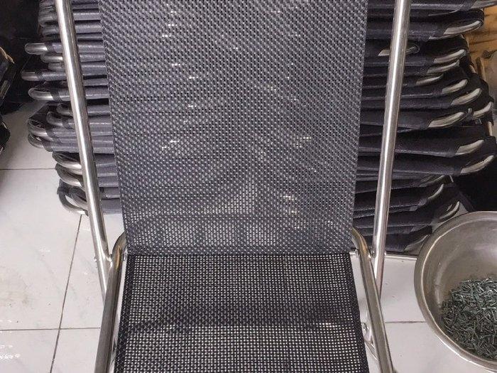 Ghế xếp lò xo inox giá sỉ tại xưởng sản1