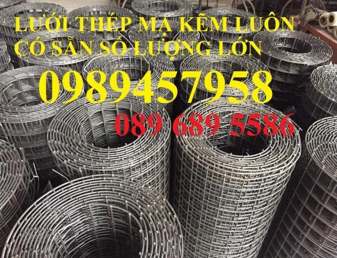 Lưới thép đen dây 2ly ô 25x25, Lưới hàn mạ kẽm dây 3ly ô 50x50, 100x1004