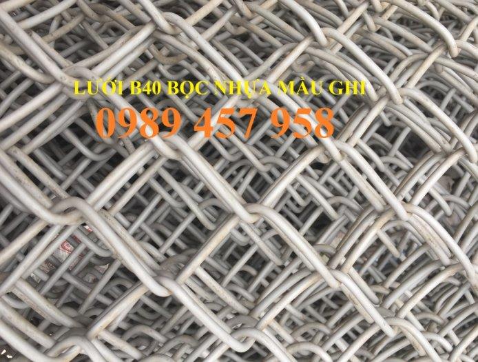 Bán lưới b40 bọc nhựa, B40 mạ kẽm Nam Định, B40 khổ 2,4m, B40 mạ nhúng nóng5