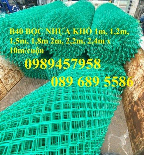 Bán lưới b40 bọc nhựa, B40 mạ kẽm Nam Định, B40 khổ 2,4m, B40 mạ nhúng nóng3