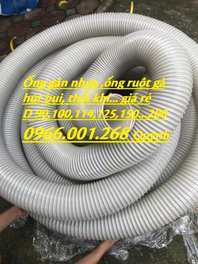Báo giá ống gân nhựa hút bụi phi 76,phi 90,phi 100,phi 114,phi 120,phi 150,phi 200 mới nhất 20212