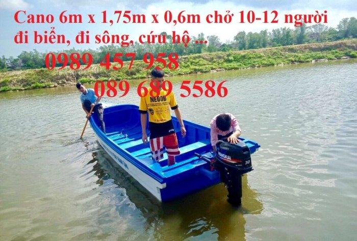 Cano chở 6-8 khách, Cano 10-12 người giá rẻ, giao hàng miễn phí1