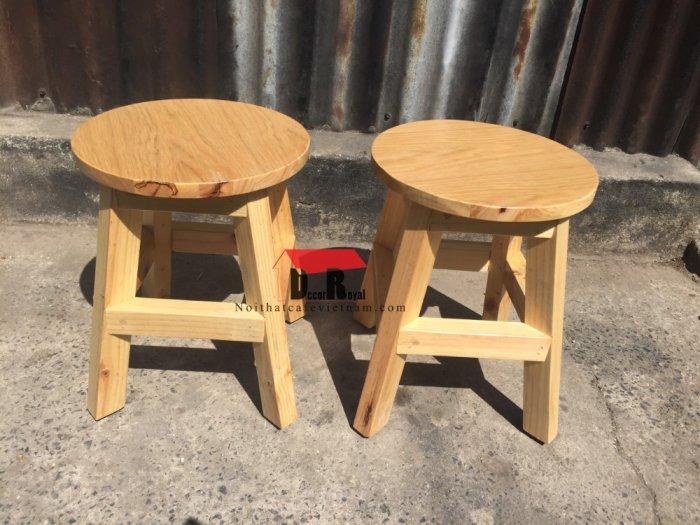 Ghế đôn gỗ cafe nhỏ xinh2