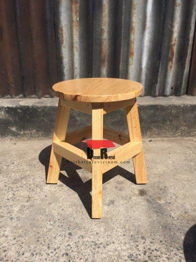 Ghế đôn gỗ cafe nhỏ xinh1