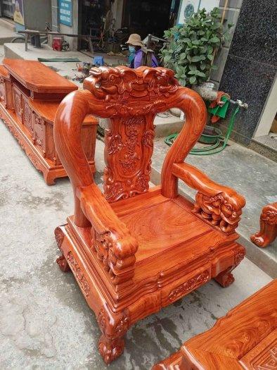 Bộ bàn ghế minh quốc voi ma mút gỗ hương đá siêu víp18