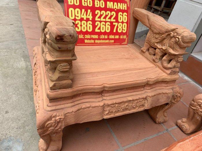 Bộ bàn ghế minh quốc voi ma mút gỗ hương đá siêu víp12