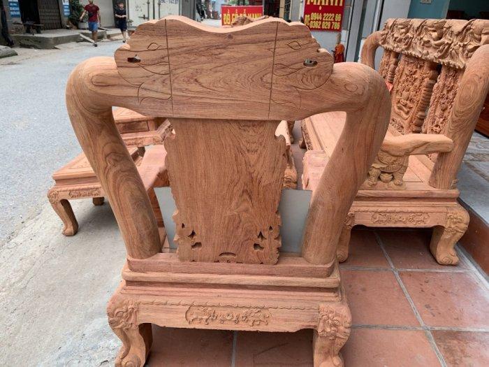 Bộ bàn ghế minh quốc voi ma mút gỗ hương đá siêu víp2