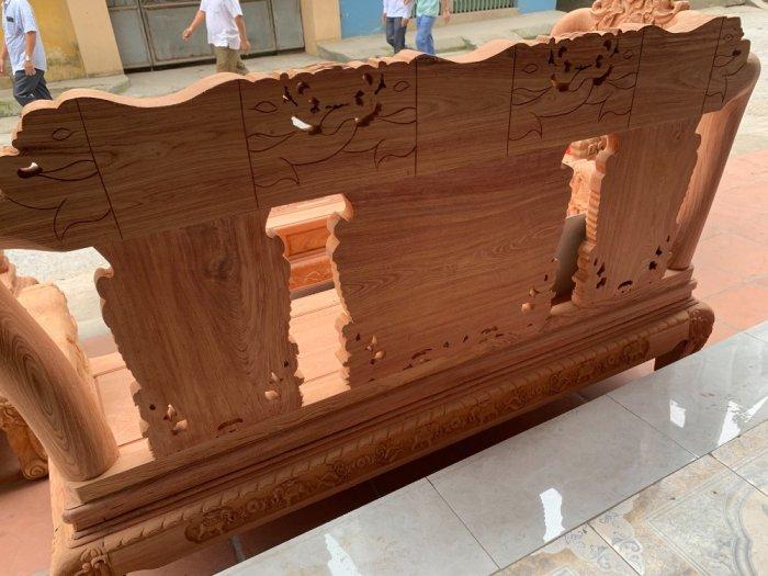 Bộ bàn ghế minh quốc voi ma mút gỗ hương đá siêu víp1