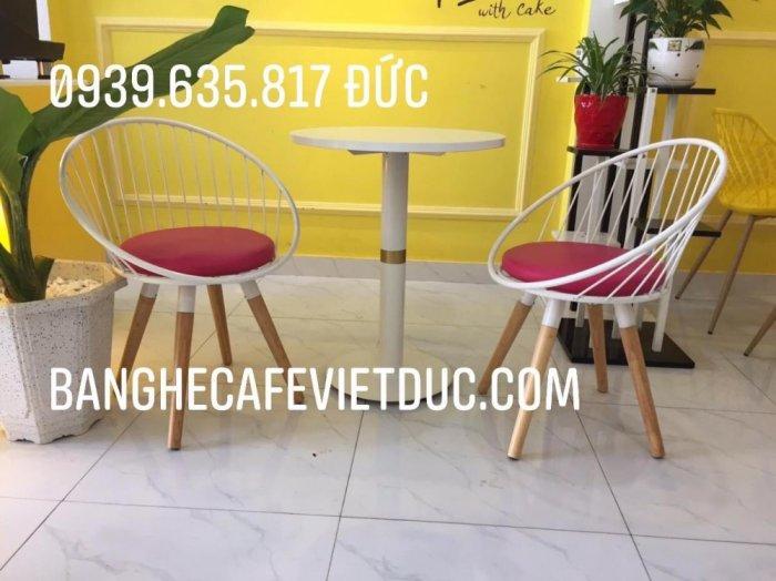 (Giá tại Xưởng) Ghế Sắt Cafe, Ghế sắc đặc sơn tĩnh điện,đẹp,bền,bảo hành 12-24 tháng1
