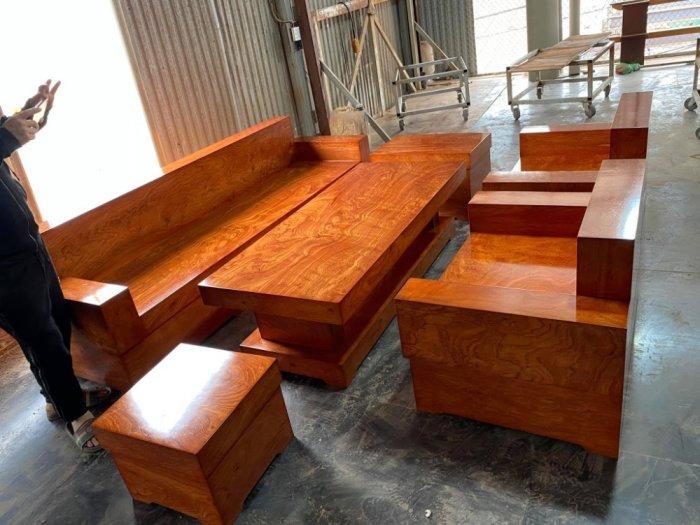 Bộ sofa đối đóng hộp gỗ hương đá4