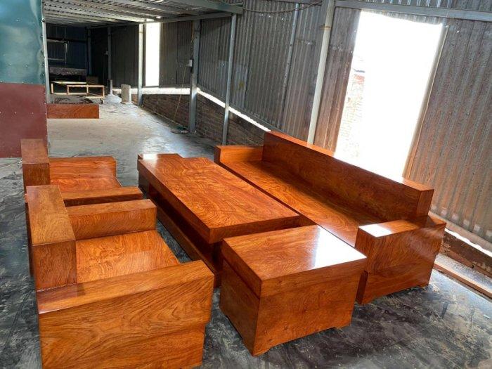 Bộ sofa đối đóng hộp gỗ hương đá3