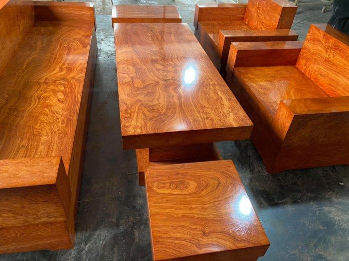 Bộ sofa đối đóng hộp gỗ hương đá2
